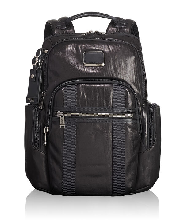 Alpha Bravo Nellis Leather Backpack
