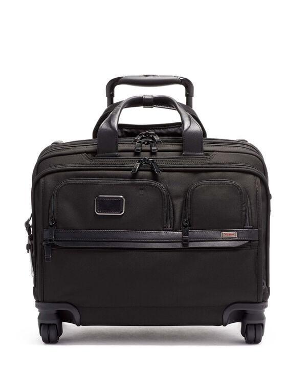 Alpha 3 Deluxe 4 Wheeled Laptop Case Brief