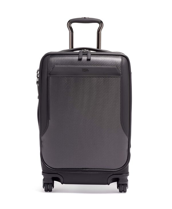 Ashton International Dual Access 4 wheeled carry-on