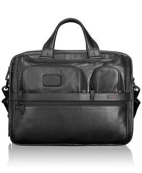 Expandable Organizer Laptop Leather Brief Alpha 2