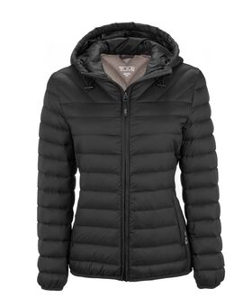 Estes Hooded Jacket Outerwear Womens